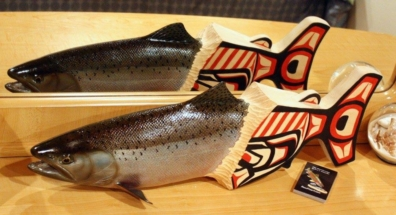 Out of the myths chinook Carving