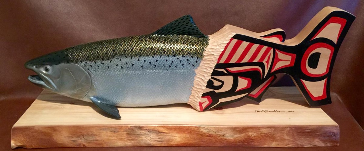 wooden carvings reel trout studio carve release wood carvings fine art for