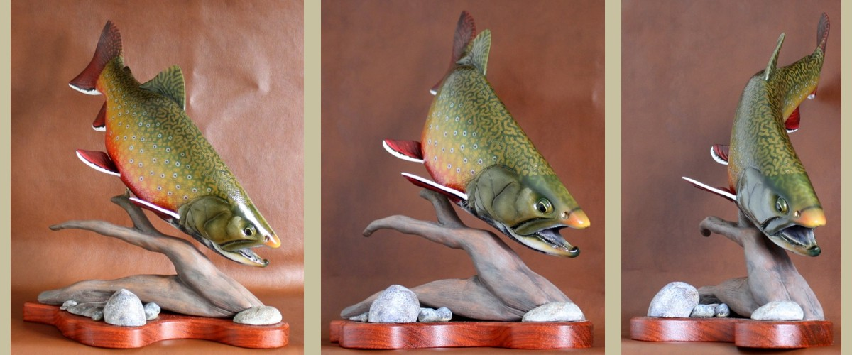 D fish carvings gene bahr s wildlife creations united states